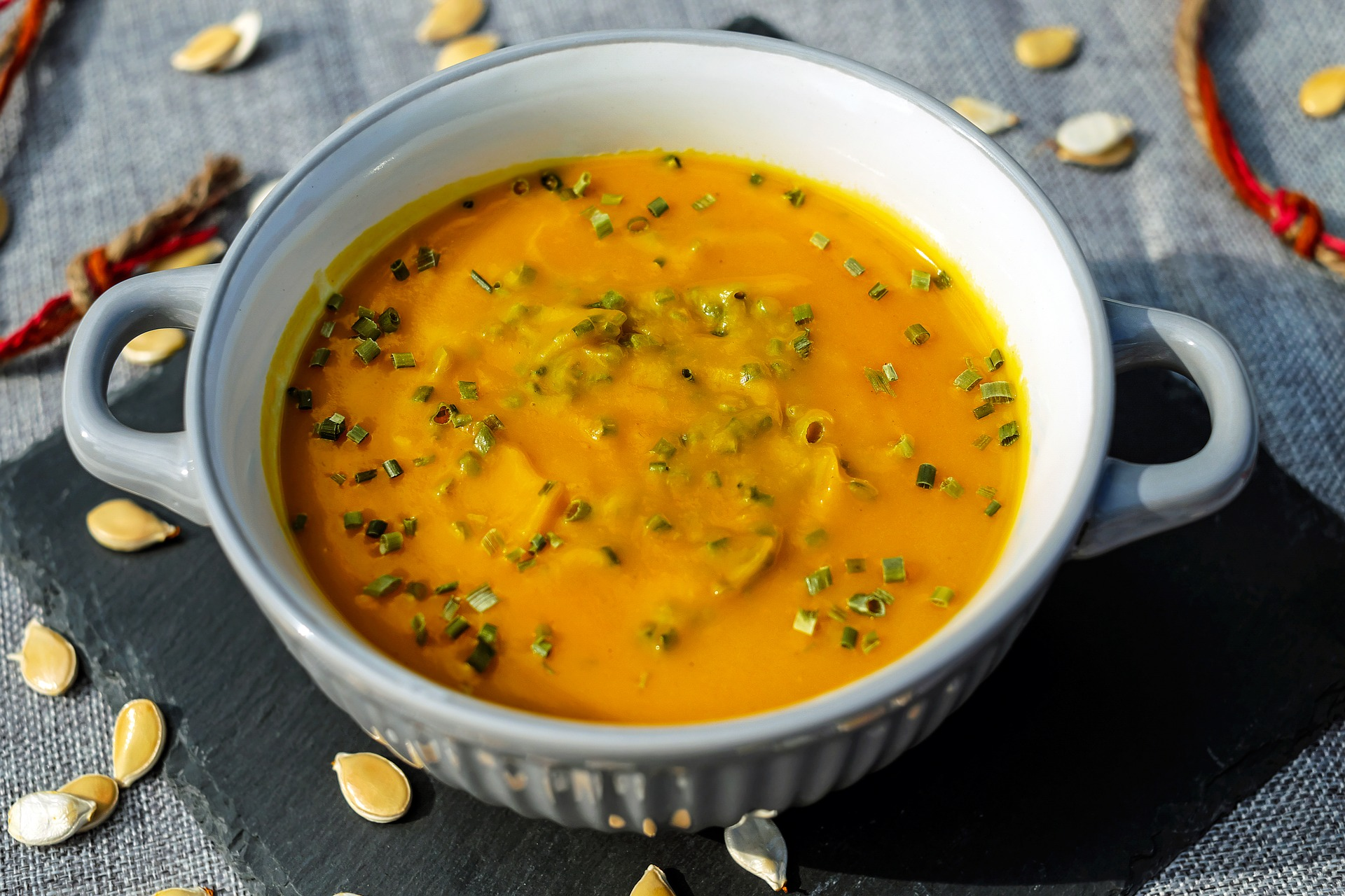 Comforting Lentils & Sweet Potatoes Soup