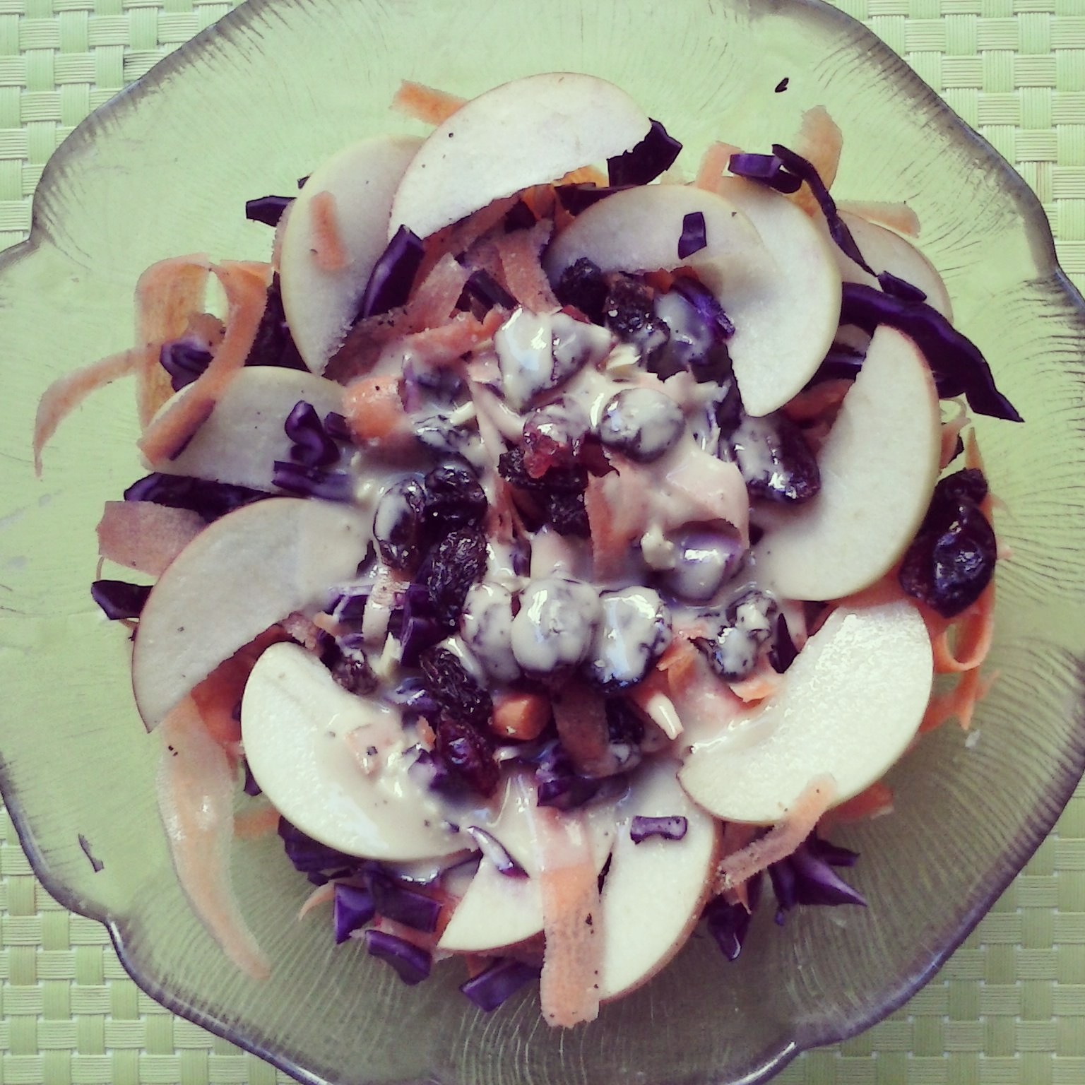 Red Cabbage & Carrot Salad