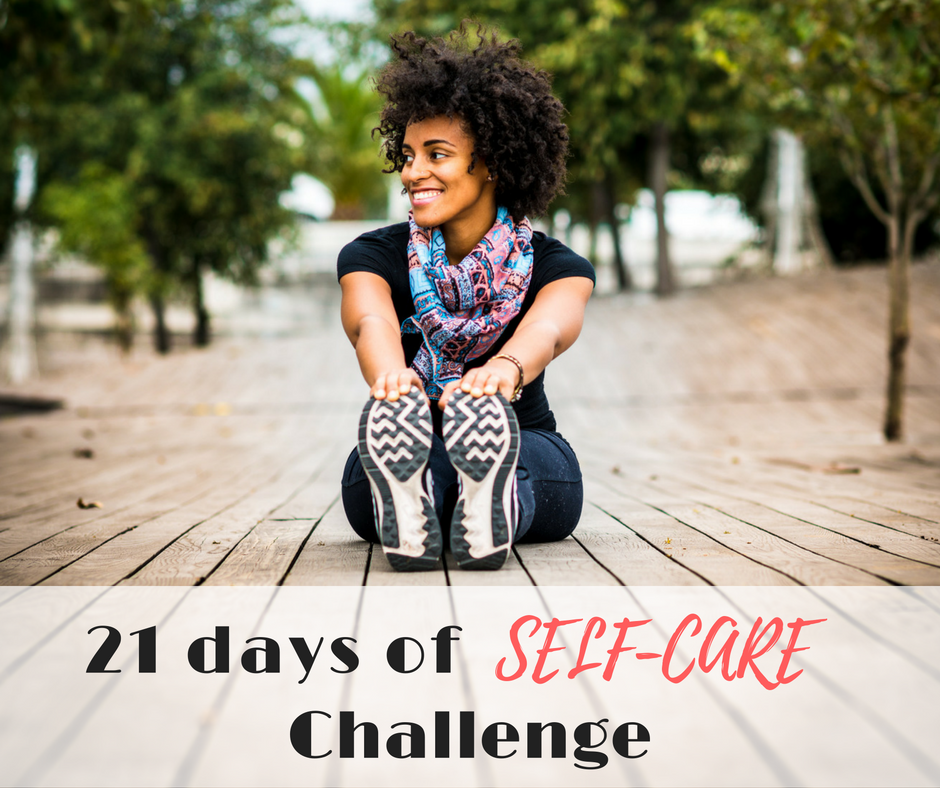 21 days of self-care challenge