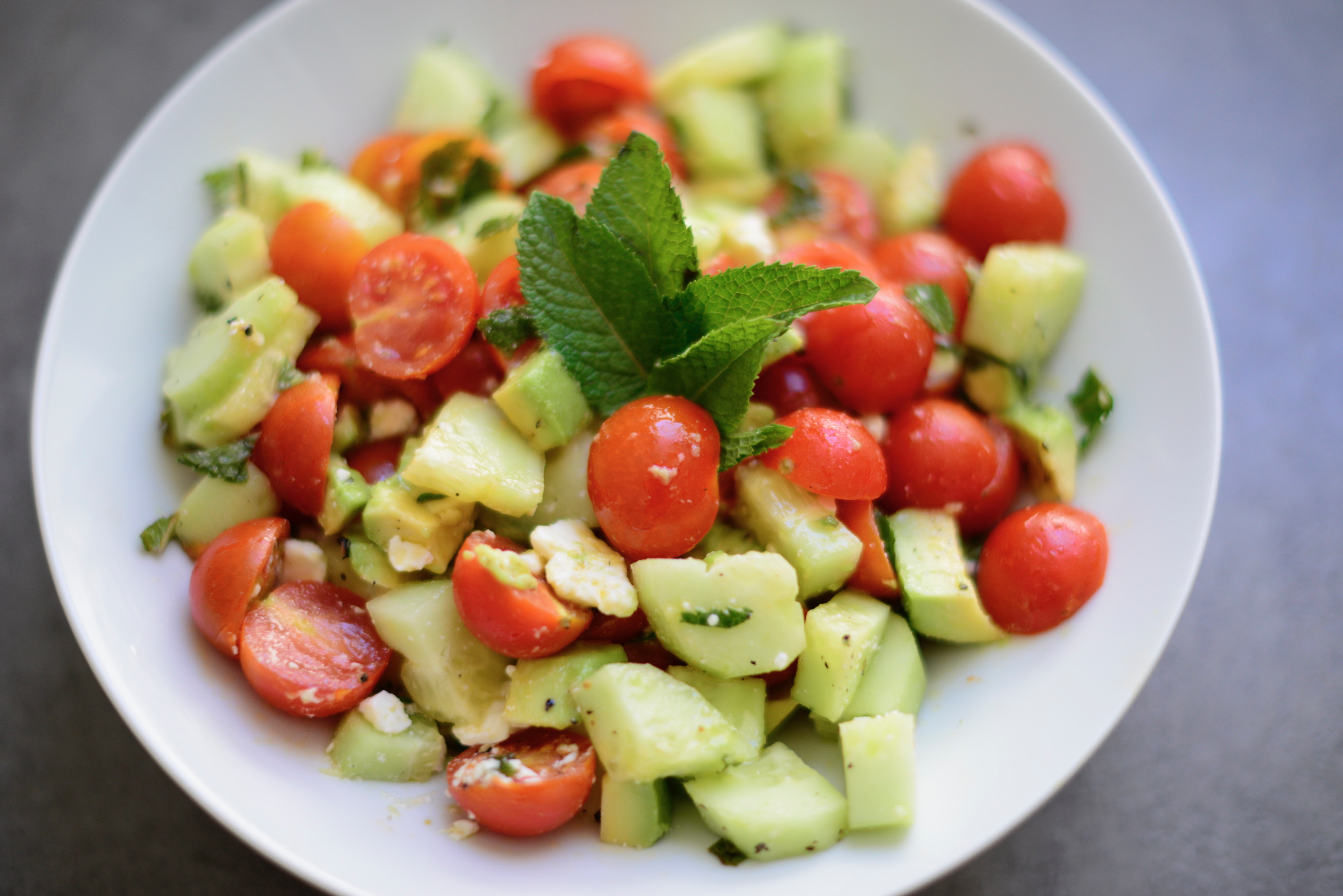 The Easiest Summer Salad